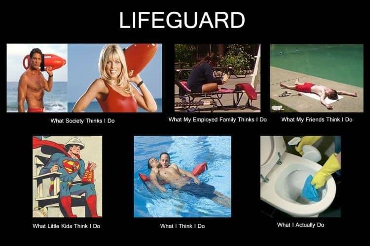 Life of a lifeguard