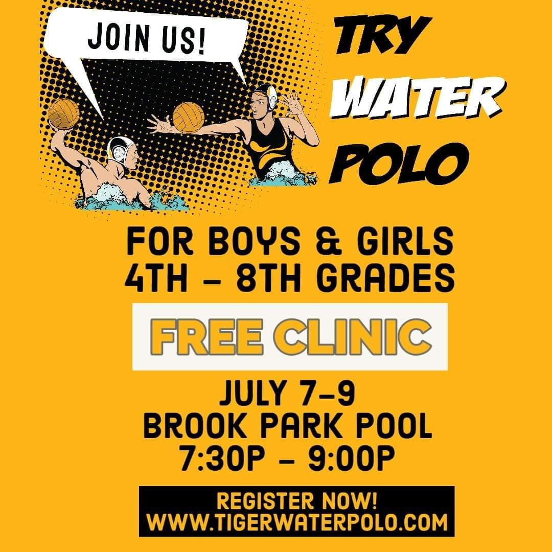 Anyone want to play water polo?